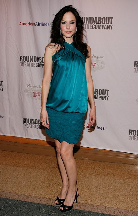 "Mary-Louise Parker attends the after party for the opening night of ""Hedda Gabler"" on Broadway at the American Airlines Theatre on January 25, 2009"