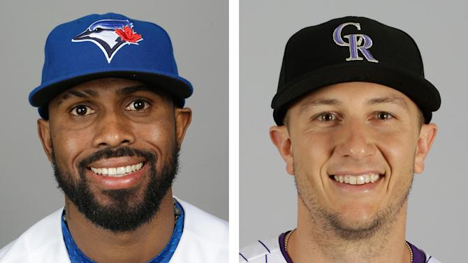 Rockies, Blue Jays swap star shortstops
