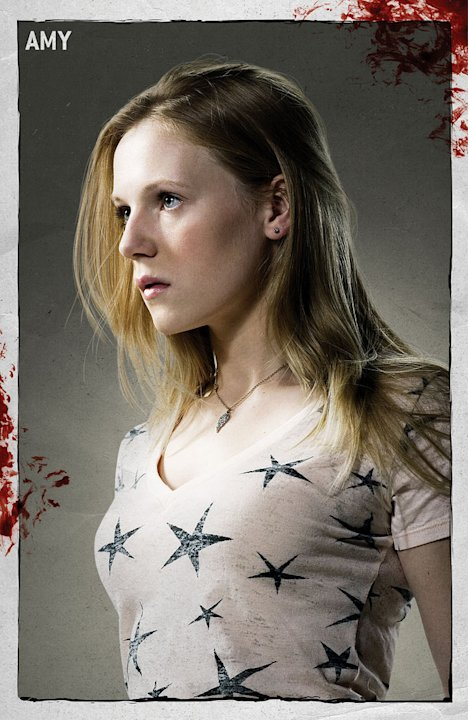 Emma Bell stars as Amy in &quot;The Walking Dead.&quot; 