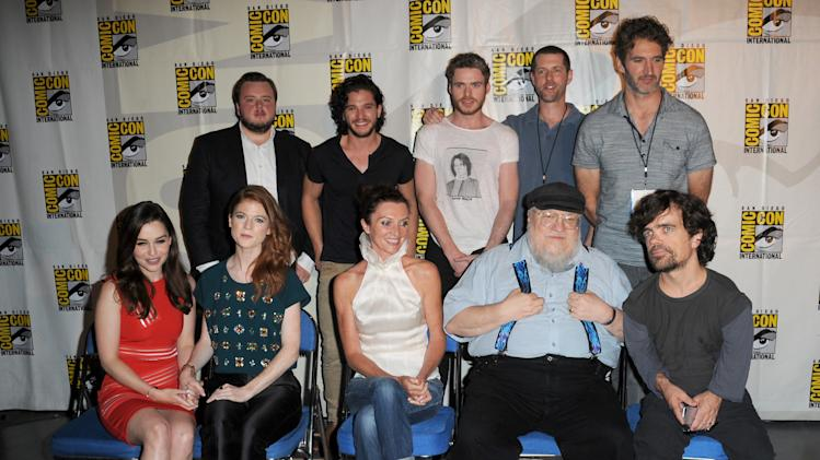 """Game Of Thrones"" Panel - Comic-Con International 2013"