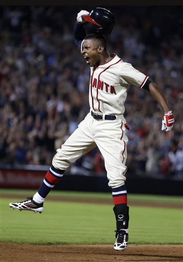 B.J. Upton lifts Braves past Nats, 2-1, in 10th