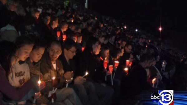 Vigil held for fallen Bryan firefighters
