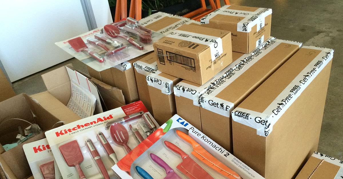 Our Warehouse is FULL! These Free Samples MUST GO!