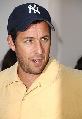 Adam Sandler at the LA premiere of Columbia's Click