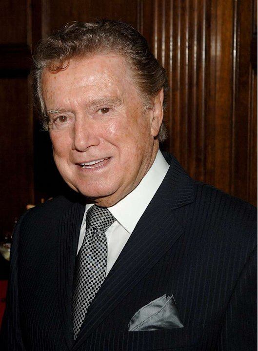 Regis Philbin attends the 2008 American Federation of Television and Radio Artists Media and Entertainment Excellence Awards at the Gotham Hall in New York January 28, 2008.