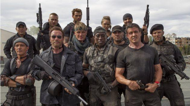 'The Expendables 3' -- Lionsgate