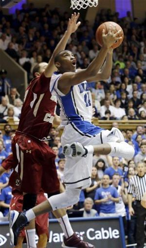 Sulaimon leads No. 6 Duke past BC, 89-68