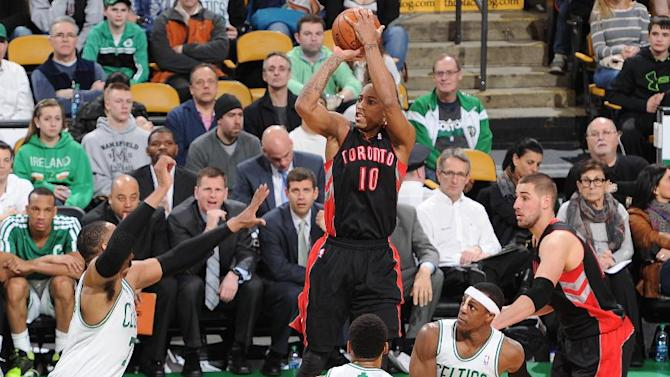 Raptors edge closer to playoffs, beat Boston