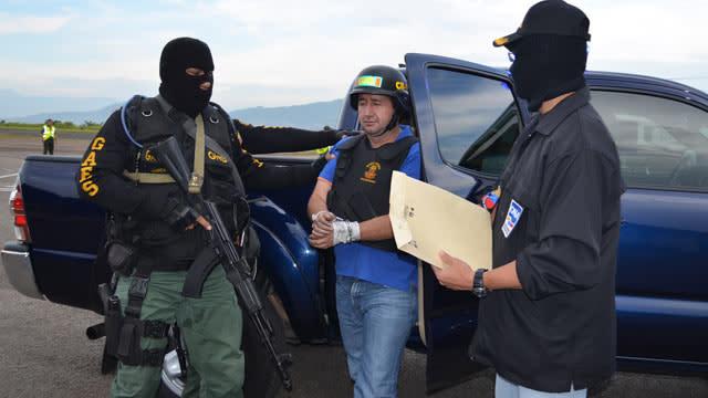 Last Colombian Drug Kingpin Falls: 'Crazy' Barrera Captured