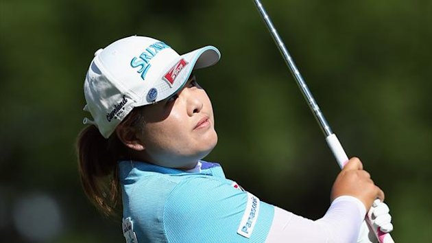 Inbee Park of South Korea hits an approach shot (AFP)