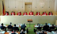 A July meeting of Germany's Constitutional Court in Karlsruhe, southern Germany. The eurozone cleared a key hurdle towards resolving its debt crisis Wednesday as Germany's top court approved a new European firewall for ratification, with some minor conditions
