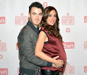 "Kevin Jonas, Pregnant Wife Danielle Talk ""Cute"" Baby Name for Daughter"