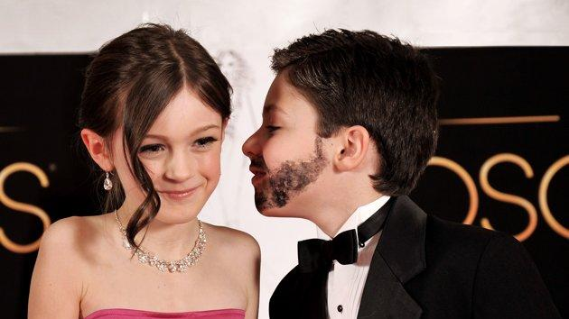 Oscars turned toddler-sized - Jennifer Garner and Ben Affleck