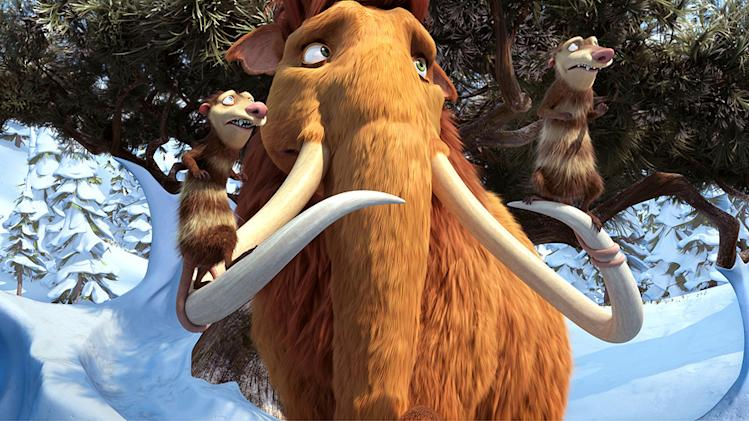 Ice Age 3 Dawn of the Dinosaurs 20th Century Fox Production Stills 2009