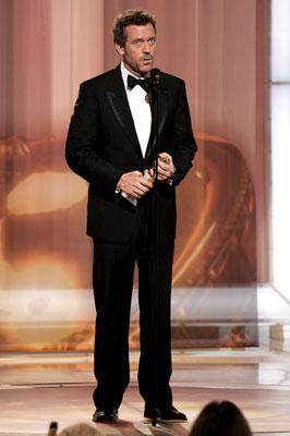Hugh Laurie Winner - Best Actor, Television Series (Drama) 63rd Annual Golden Globe Awards Beverly Hills, CA - 1/16/05