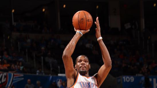 Durant leads Thunder past Jazz 116-96