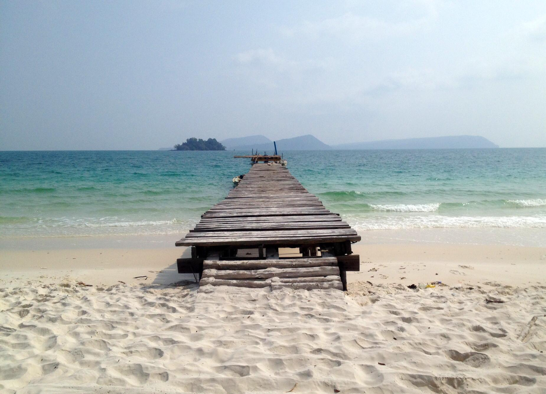 Serenity Now: Beach seclusion off Cambodia's southern coast