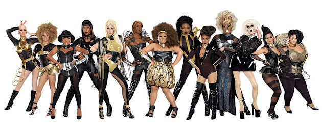 "The cast of ""RuPaul's Drag Race."""