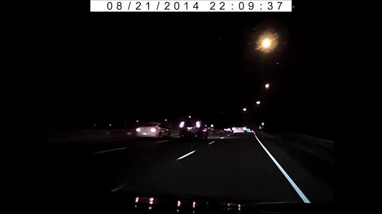 Dash-cam captures meteor over Toronto, Canada