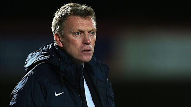 David Moyes was pleased with his side's 'professional job' in the victory over Cheltenham