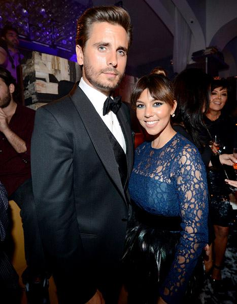 Scott Disick Raps, Serenades Kourtney Kardashian During Birthday Celebration