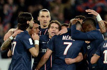 Paris Saint-Germain 3-0 Nice: Menez, Ibrahimovic and Chantome strike in PSG win