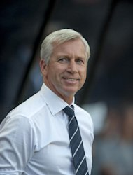 Alan Pardew was surprised when he was offered an eight-year contract