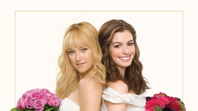 Kate Hudson Anne Hathaway Poster Bride Wars Production Stills 20th Century Fox 2009