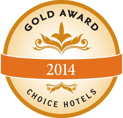 Choice Hotels International 2014 Gold Hospitality Award