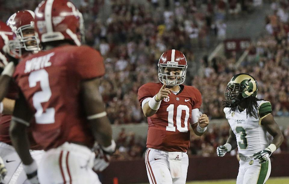 Tide No. 1 in AP poll after rout-filled weekend