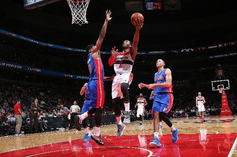 Wizards end losing streak with 99-95 win over Pistons