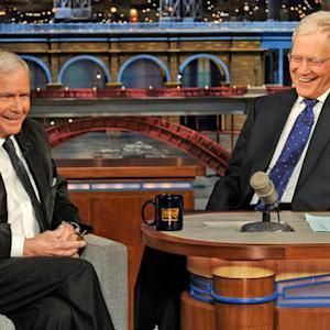 David Letterman - Tom Brokaw Receives a Jefferson Award