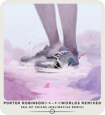 Talking to Porter Robinson about the fantastical artwork for 'Worlds Remixed'