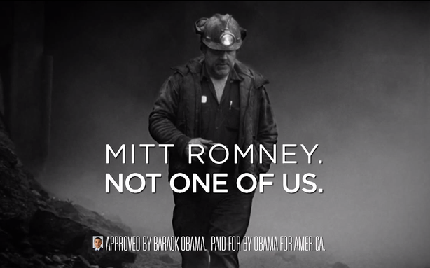 Obama Declares Romney 'Not One of Us'