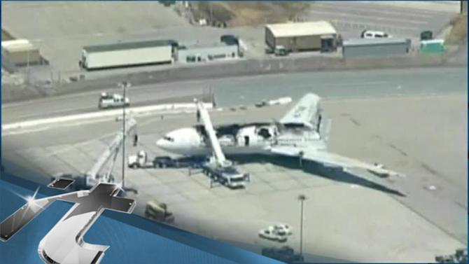 Disaster & Accident Breaking News: Video From Asiana Crash Rescue Effort Shows Girl Overlooked