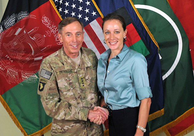 FILE -- This July 13, 2011, photo made available on the International Security Assistance Force's Flickr website shows the former Commander of International Security Assistance Force and U.S. Forces-A
