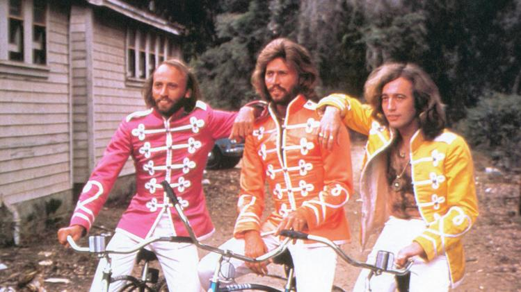 "The Bee Gees in ""Sgt. Pepper's Lonely Hearts Club Band"""