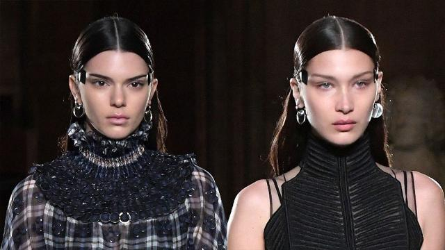 Kendall Jenner and Bella Hadid Slay the Runway at Paris Fashion Week -- See the Pics!
