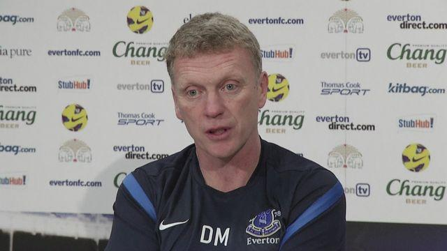 Moyes eyes European football [AMBIENT]