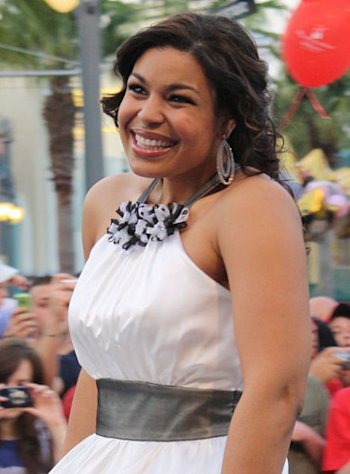 Jordin Sparks, before her dramatic weight loss.