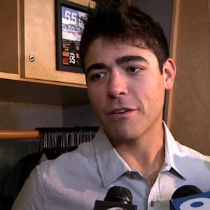 Matt Moore talks about his first game back