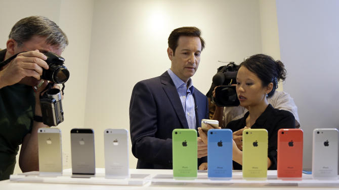 At a Glance: iPhone 5C and 5S vs. older iPhone 5