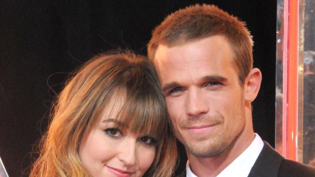 Dominique Geisendorff and actor Cam Gigandet arrive at the Los Angeles Premiere 'Burlesque' at Grauman's Chinese Theatre on November 15, 2010 in Hollywood --