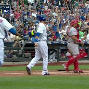 Matz's two-run double