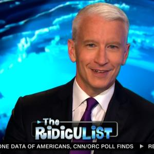 Anderson Cooper Ridicules Himself