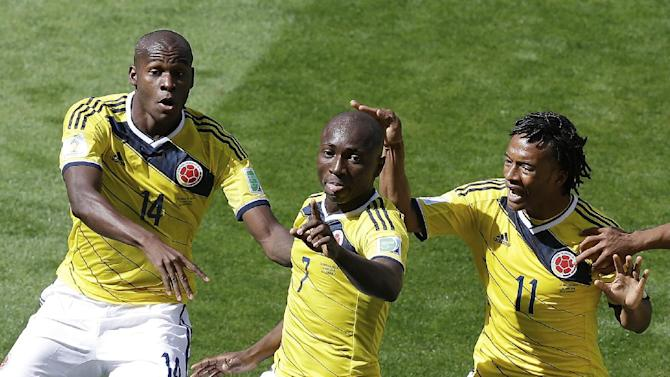 Colombia's verve sets tone in Group C at World Cup