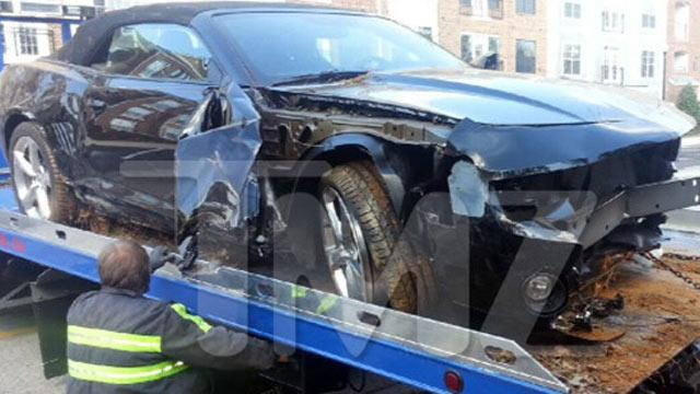 Bobbi Kristina Wrecks Car After Split