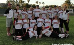 Chaparral softball team