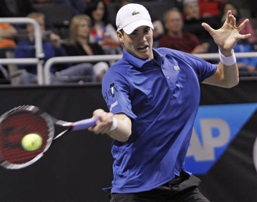 Haas reaches final at SAP Open with win over Isner