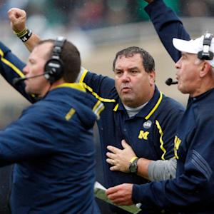Why Brady Hoke Doesn't Need A Headset